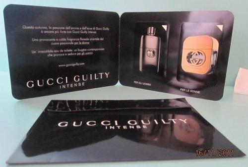 Campione omaggio Gucci Guilty Intense