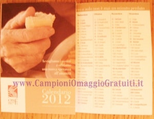 calendario 2012 opera san francesco