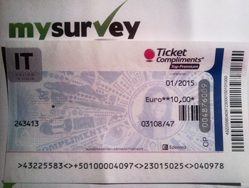 Sondaggi Retribuiti MySurvey
