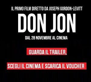 Biglietti GRATIS film Don Jon
