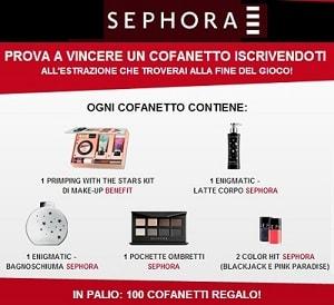 Concorso a premi Sephora