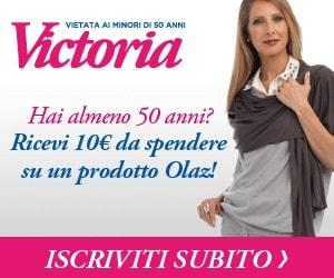 buoni sconto Olaz Victoria 50