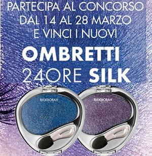 Concorso Debby Ombretto 24Ore Silk