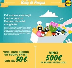 Concorso a Premi Lidl Rally di Pascoa