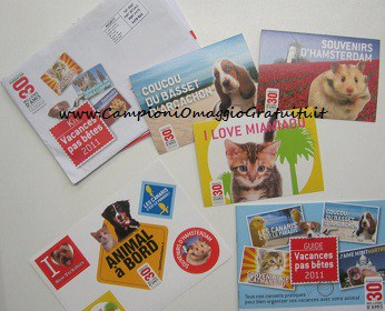 adesivi gratis animali