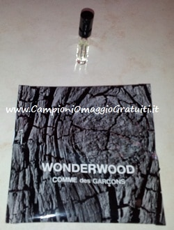 ricevuti campioni omaggio profumo worderwood