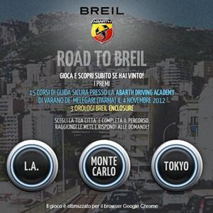 concorso road to breil