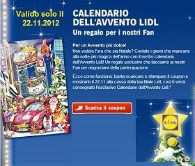 calendario 2013 GRATIS lidl