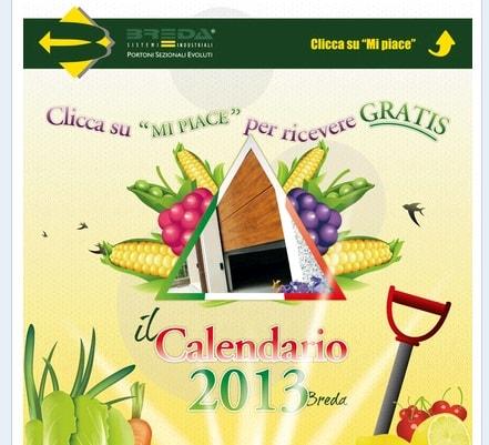 calendario 2013 gratis breda