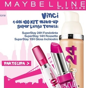 Concorso Maybelline New York