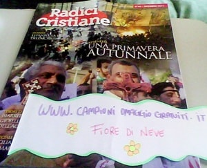 rivista mensile radici cristiane