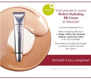 campione omaggio bb cream shiseido