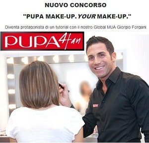Vincitori Concorso Pupa Make up