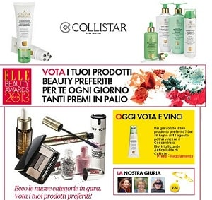 Concorso Elle Beauty Awards