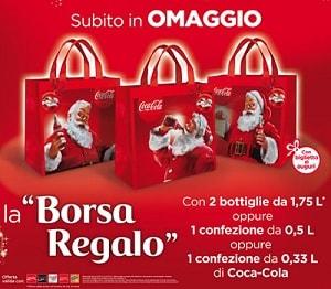 Borsa regalo in omaggio con coca cola - Regalos coca cola ...