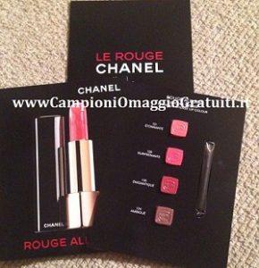 Campioni omaggio rossetto liquido Chanel