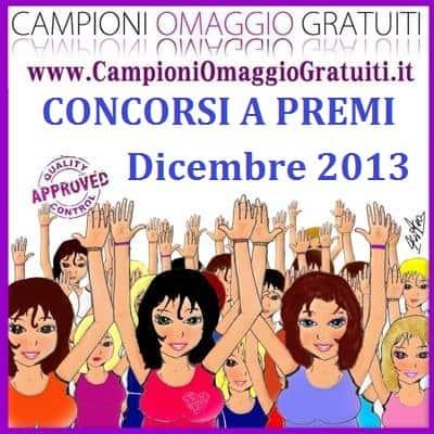 Concorsi a premi Dicembre 2013