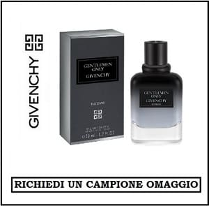 Campioni Omaggio Givenchy Gentlemen Only Intense