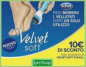 Buoni sconto Scholl Velvet Soft
