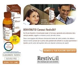 Campioni omaggio per capelli RestivOil