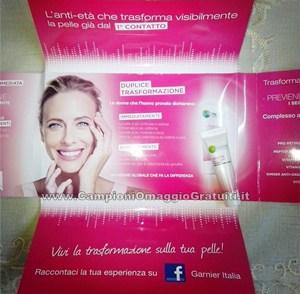 Ricevuto Campioni Omaggio Garnier Miracle Skin Cream