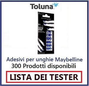 LISTA DEI TESTER maybelline