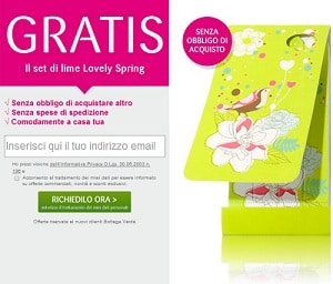 Set Lime Lovely Spring Gratis Botega Verde 300