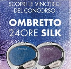 Vincitrici Ombretti 24 Ore Silk Deborah Milano