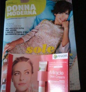 Campione Omaggio Miracle Skin su Donna Moderna