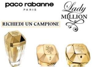 Campioni Omaggio Paco Rabanne Eau My Gold