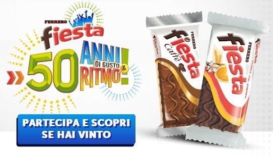 Concorso a Premi Fiesta Ferrero