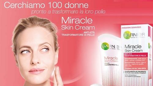 Prova GRATIS Garnier Miracle Skin Cream