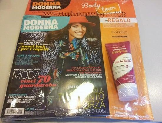 Biopoint Speedy Hair Omaggio con Donna Moderna