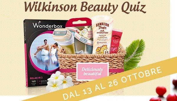 Concorso Wilkinson Beauty Quiz