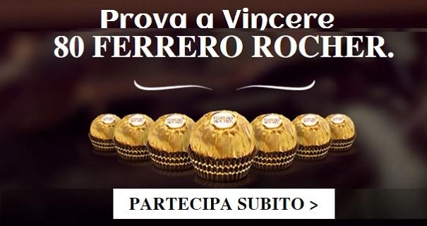 Concorso a Premi Ferrero Rocher