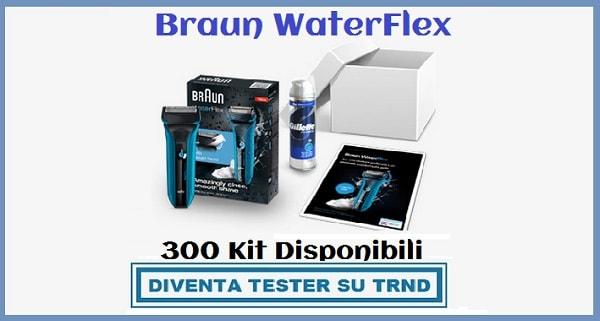 Diventa Tester Braun WaterFlex su TRND
