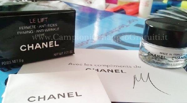 Campioni Omaggio Chanel Le Lift