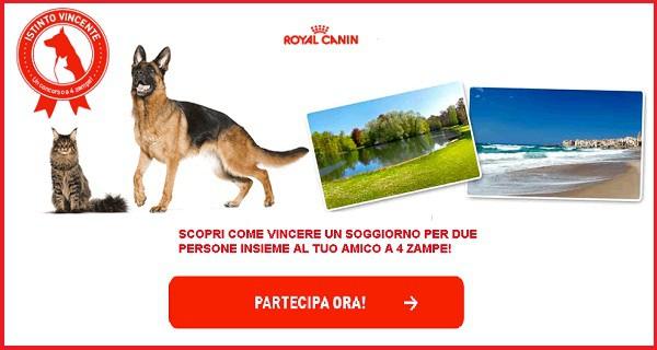 Concorso a premi Royal Canin