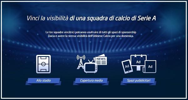 Concorso a Premi Dacia Sponsor Day