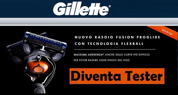 Gillette Fusion ProGlide Gratis su TRND