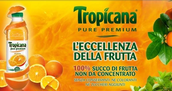 Succhi di Frutta Tropicana su The Insider