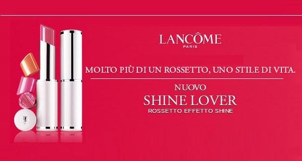Campioni Omaggio Rossetto Lancôme Shine Lover