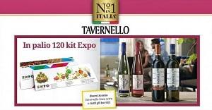 Concorso a Premi Vinci EXPO 2015 con Tavernello