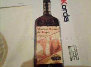 Magnete personalizzato omaggio da Amaro del Capo