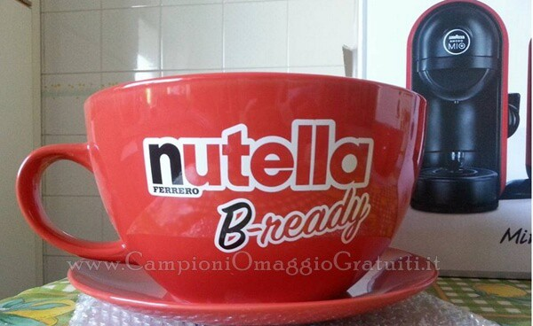 Tazza concorso Nutella b-Ready