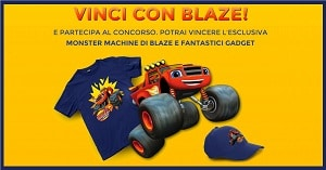 Concorso a Premi Blaze: Vinci Monster Machine e Gadget