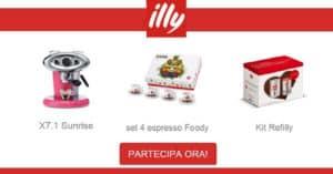 Vinci una fornitura di caffè al concorso Illy Expo 2015