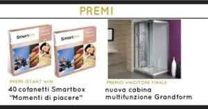 Concorso-Grandform-vinci-40-Smartbox-o-doccia-da-3.200€