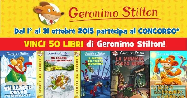 Vinci-Gratis-50-Libri-Geronimo-Stilton