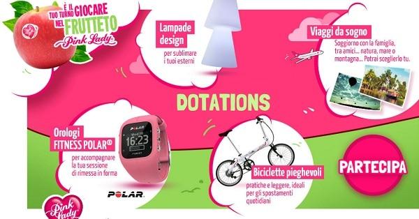 Concorso-a-Premi-Pink-Lady-vinci-orologio-lampada-o-bicicletta